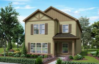 Parkdale Plan in Ashton Springs - Court, Huntsville, AL 35806