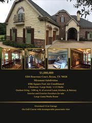5204 Bourrone Ct, Bryan, TX 77802