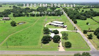 3820 FM 390 E, Brenham, TX 77833