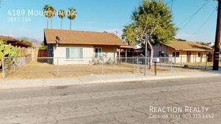4189 Mountain Dr, San Bernardino, CA 92407