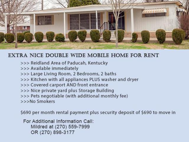 4900 Epperson Rd, Paducah, KY 42003 - Mobile/Manufactured