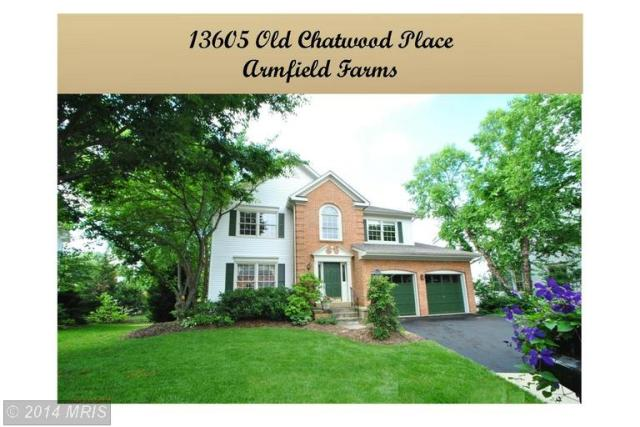 13605 Old Chatwood Pl, Chantilly, VA 20151 - 4 Bed, 3 5 Bath