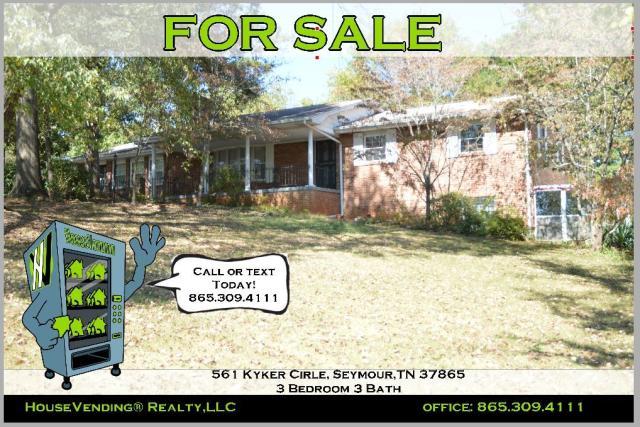 561 Kyker Cir, Seymour, TN 37865 - 2 Bath Single-Family Home