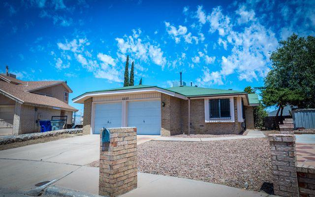 2223 Robert Wynn St, El Paso, TX 79936 - 3 Bed, 2 Bath Single-Family Home -  MLS# 812454 - 39 Photos   Trulia