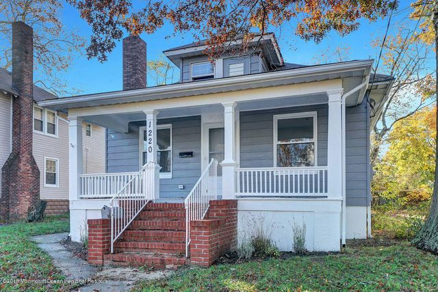 1220 9th Ave, Neptune, NJ 07753 - 3 Bed, 1 Bath Single