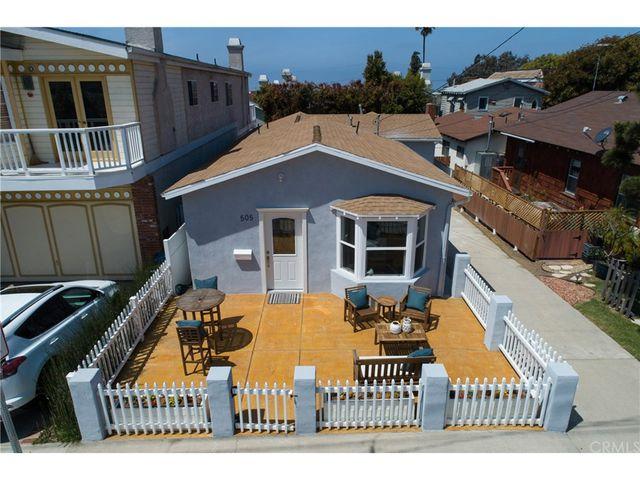 505 Hollowell Ave Hermosa Beach Ca 90254 2 Bed 1 Bath Single