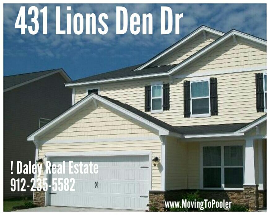 431 Lions Den Dr, Pooler, GA 31322 - Single-Family Home   Trulia