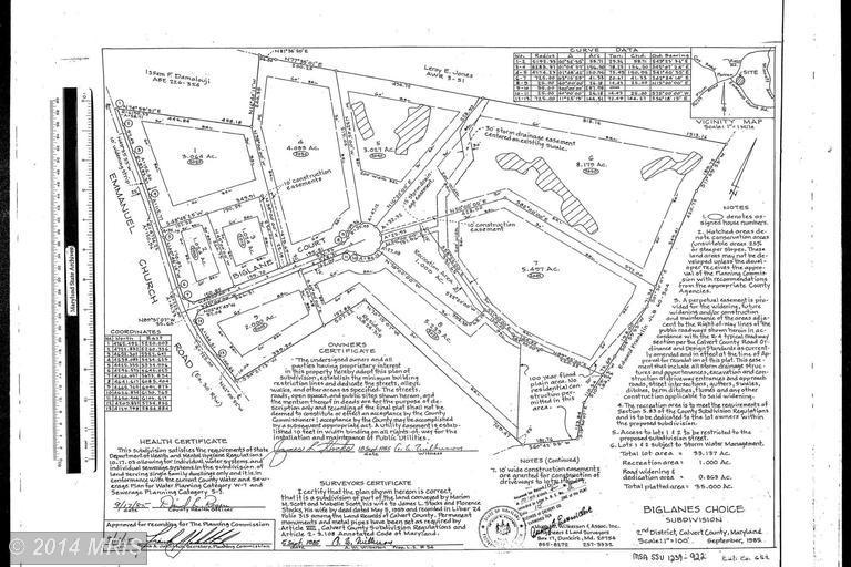 2045 Biglane Ct, Huntingtown, MD 20639 - 3 5 Bath Single