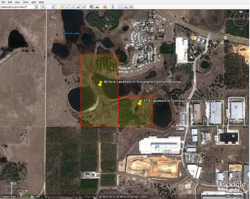 117 Farm Land Lakefront Acreage Villa City Rd 117 Groveland Fl 34736