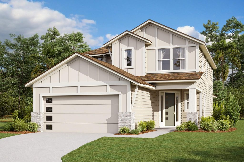 The Fanning at West End Plan in Nocatee - West End, Ponte Vedra, FL 32081