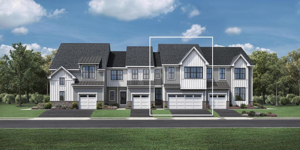 Colman Plan in Reserve at Center Square - The Villages Collection, Norristown, PA 19403