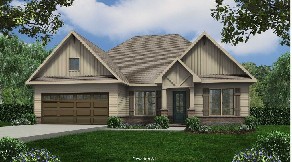 Piedmont Plan in Tellico Village A Community Cook Bros. Homes is Building In, Loudon, TN 37774