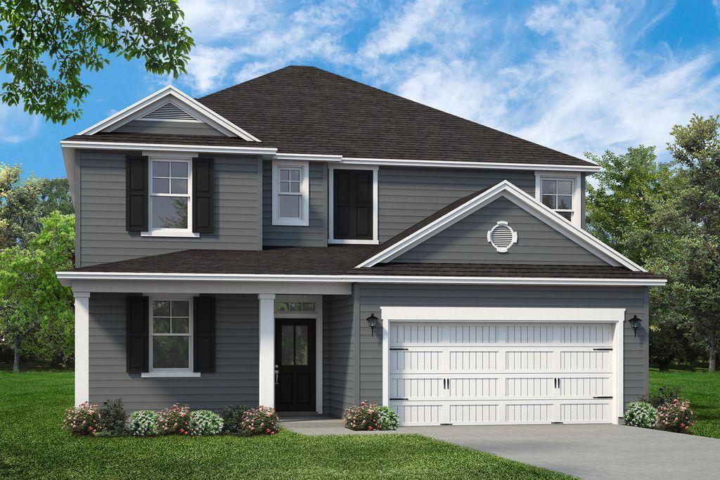 Hampton Plan in Gregory Pointe at Deercreek, Manning, SC 29102