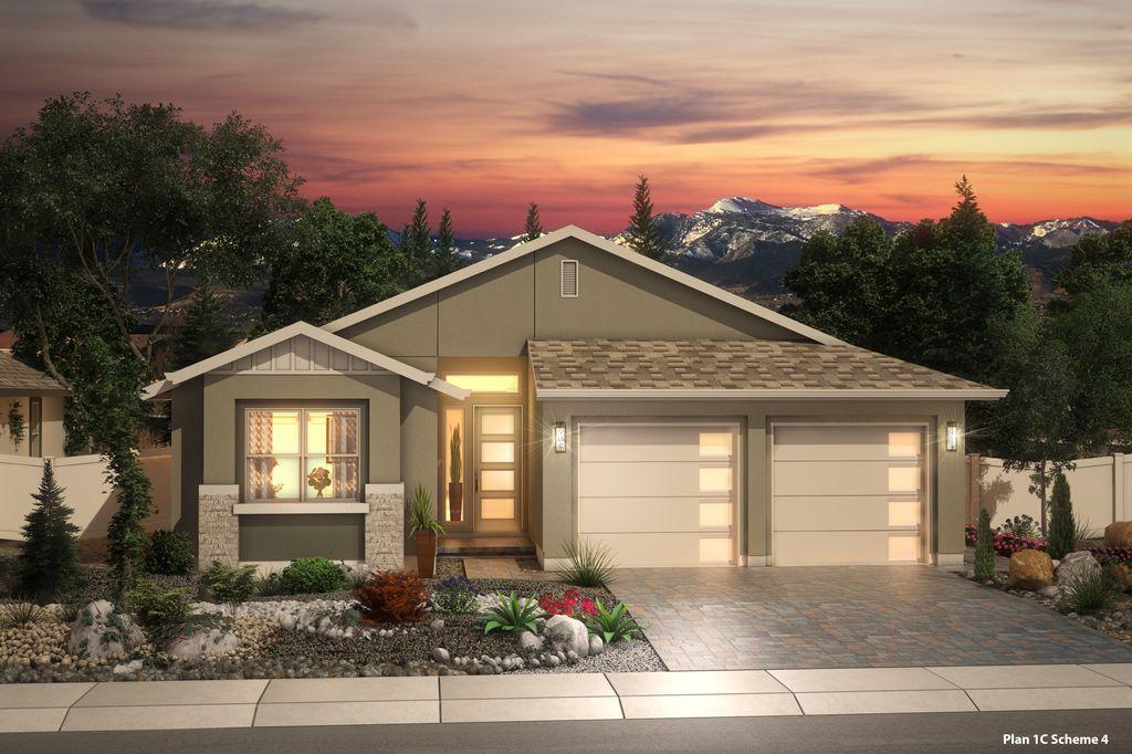 Creeekside Plan in TerReno at Damonte Ranch, Reno, NV 89523