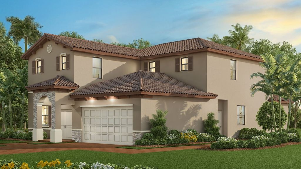 The Waterford Plan in Silver Palms : Royal Collection, Homestead, FL 33032