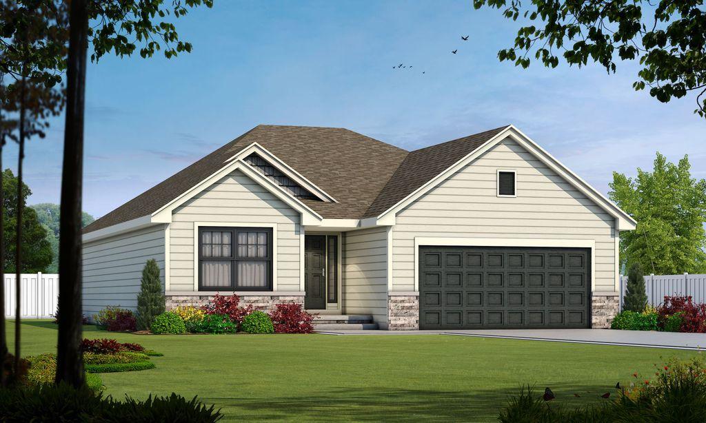Oakmont II Plan in Sunny Pointe Villas, Blue Springs, MO 64015