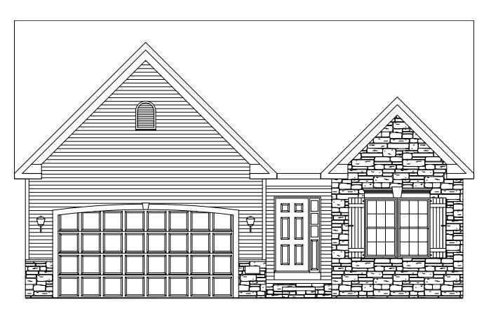 Barksley Plan in Iris Place, Aurora, OH 44202
