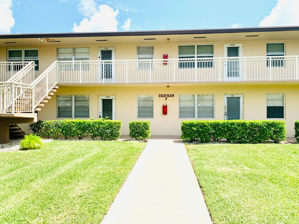 314 Chatham S #314-P, West Palm Beach, FL 33417