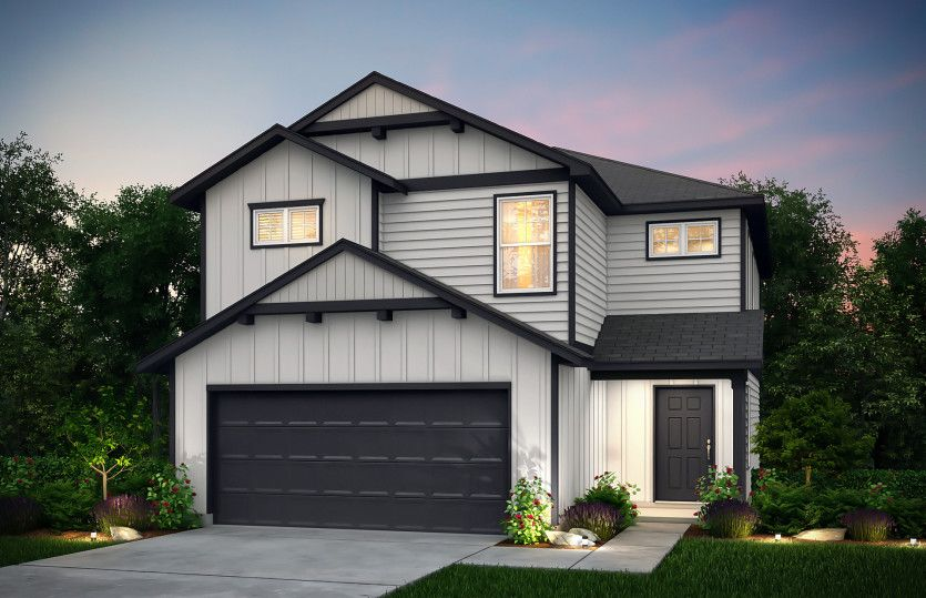 Springfield Plan in Clearcroft, Houston, TX 77034