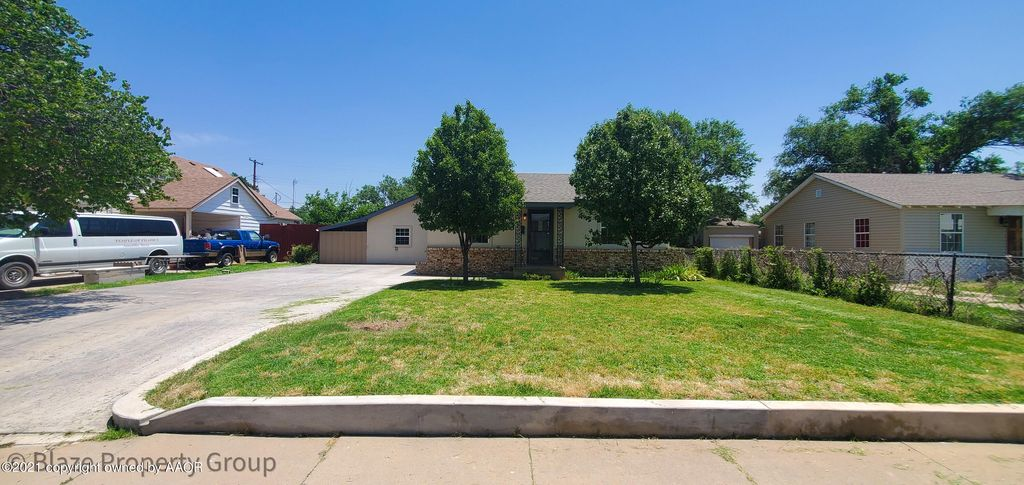 4109 S Bonham St, Amarillo, TX 79110