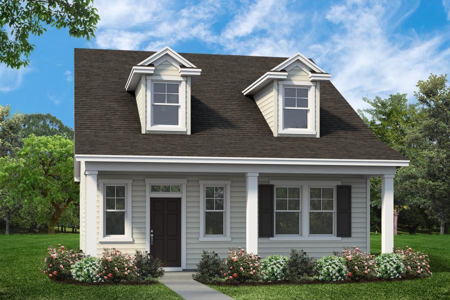 Calhoun Plan in Gregory Pointe at Deercreek, Manning, SC 29102