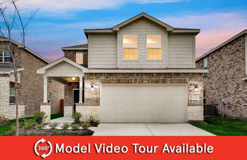 Springfield Plan in Oakbrook, Van Alstyne, TX 75495