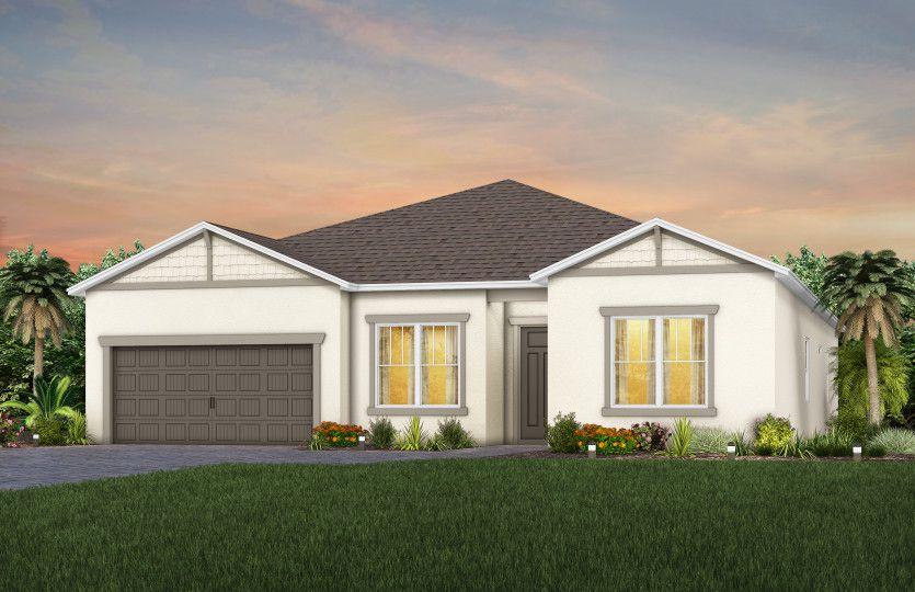 Easley Plan in Serenoa Lakes, Clermont, FL 34714