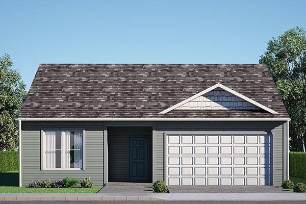 The Winchester - Standard Plan in Porter Farms Homestead, Silvis, IL 61282