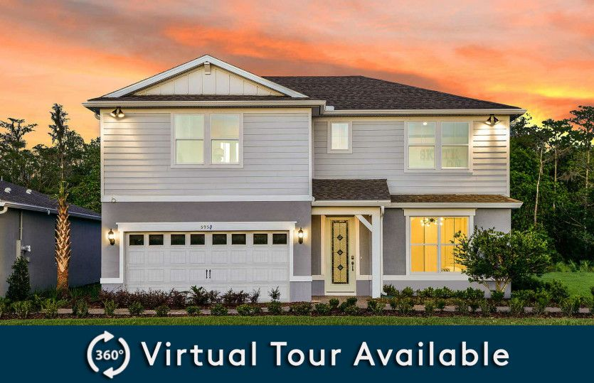 Whitestone Plan in Pinewood Reserve, Orlando, FL 32829