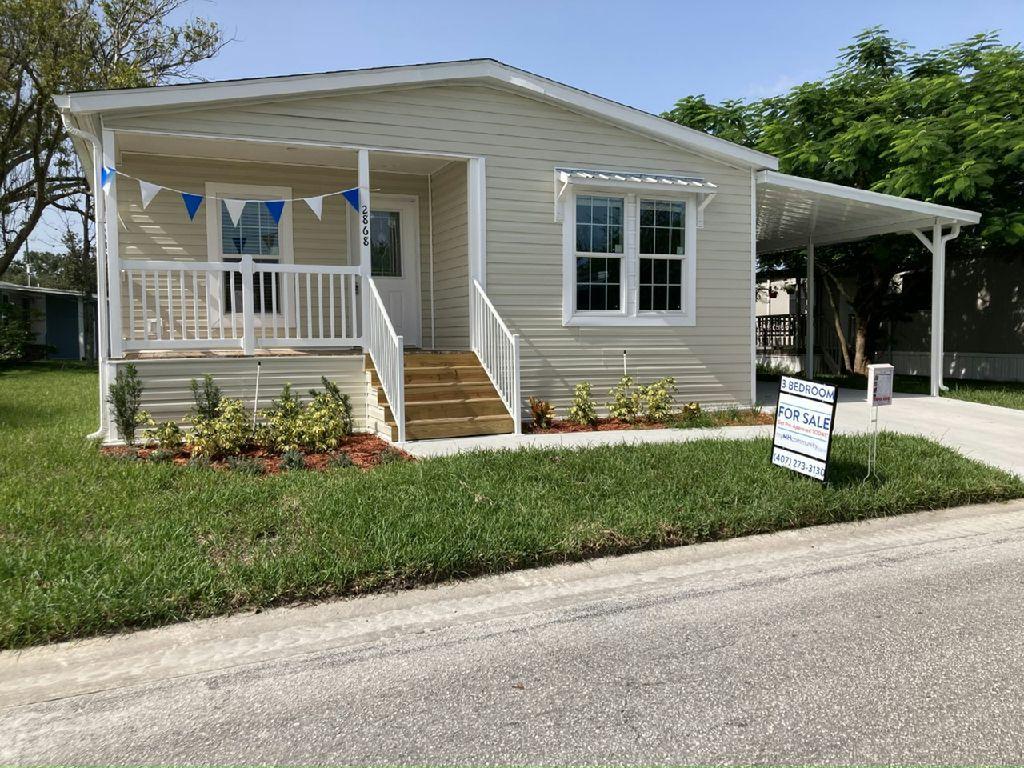 Raleigh Plan in Starlight Ranch, Orlando, FL 32822