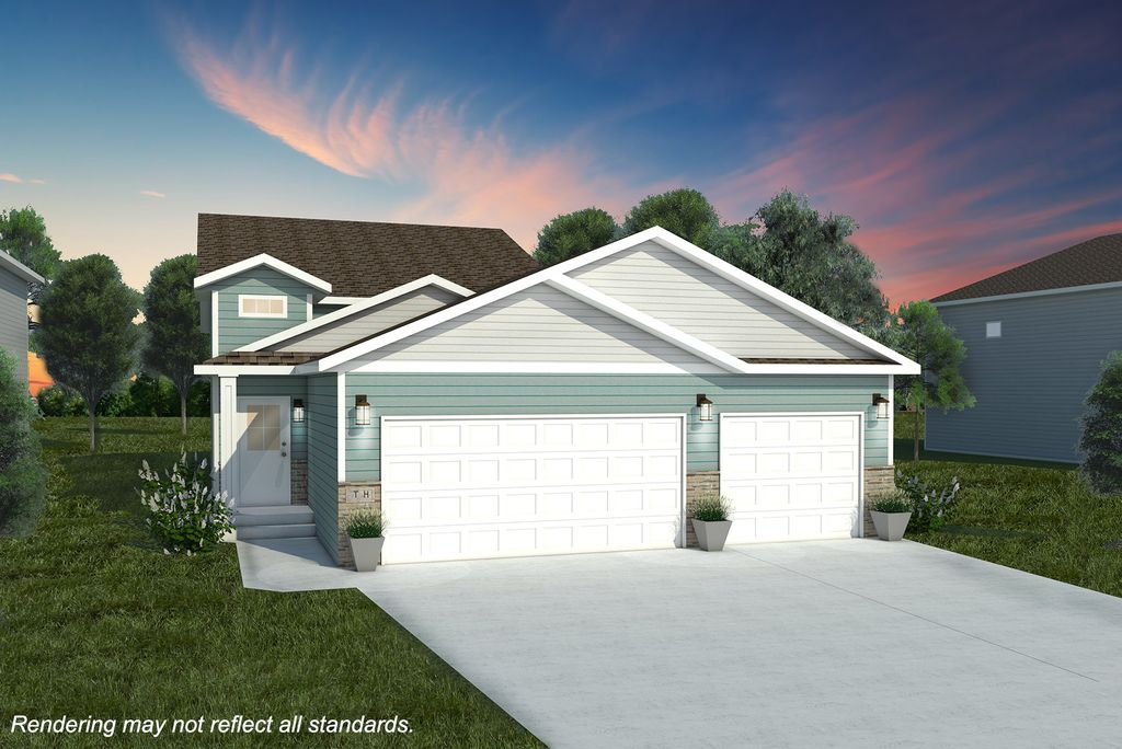 2180 CLASSIC 3 STALL Plan in Crary, Grand Forks, ND 58201