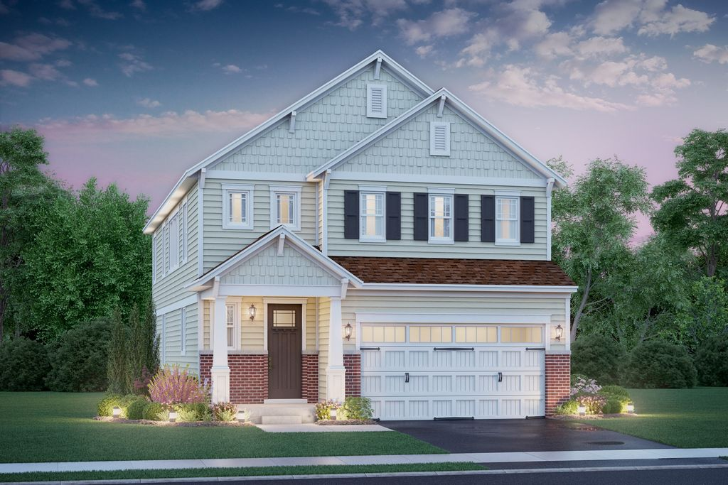 Henley II Plan in Villas at the Commons, Hawthorn Woods, IL 60047