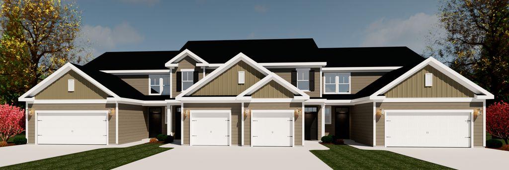 Emerson Townhomes - 4 Bedroom Plan in Crawford Creek, Evans, GA 30809