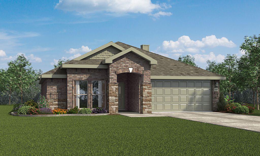 Martha Plan in The Meadows, Amarillo, TX 79119