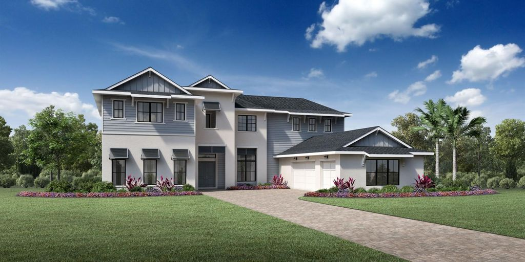Soudron Plan in Shores at Lake Whippoorwill - Signature Collection, Orlando, FL 32832