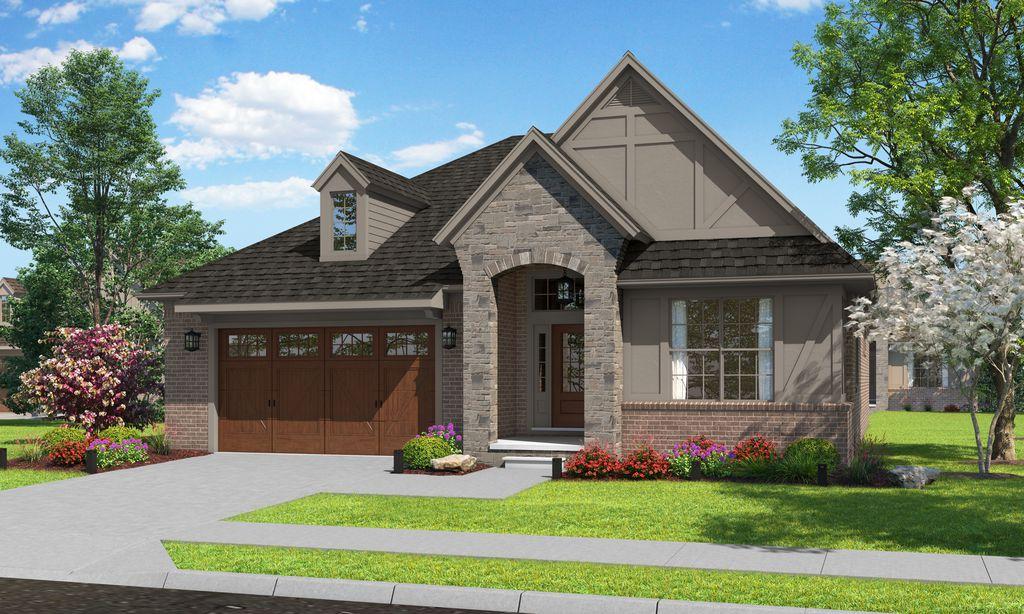 The Shelby II Plan in Cedar Cove, Utica, MI 48316