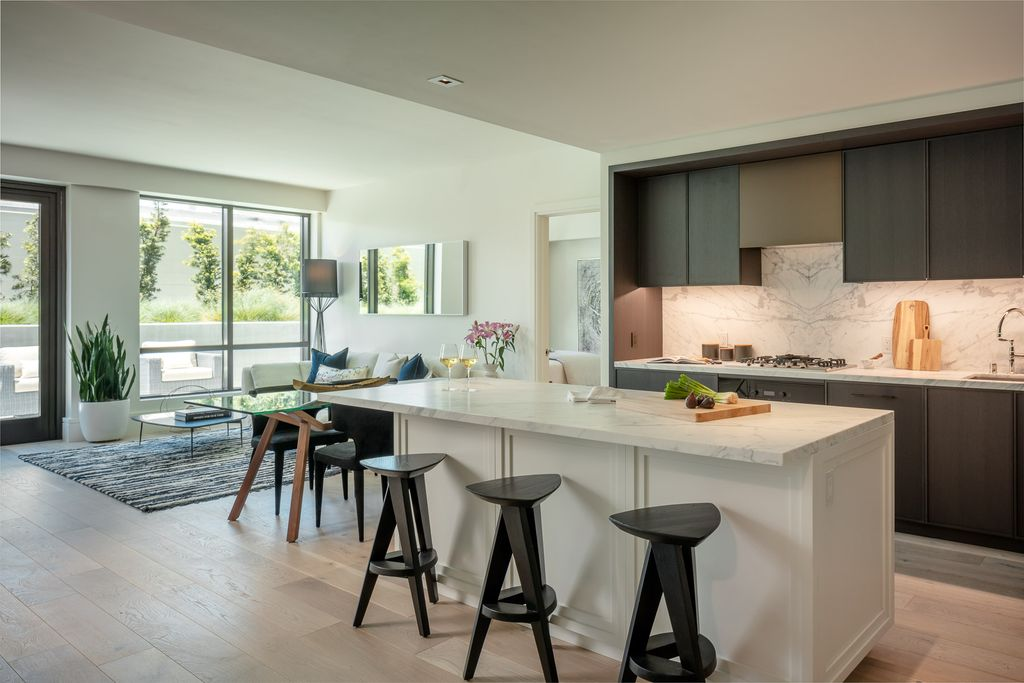 Two Bedroom Residence Plan in Union House, San Francisco, CA 94123