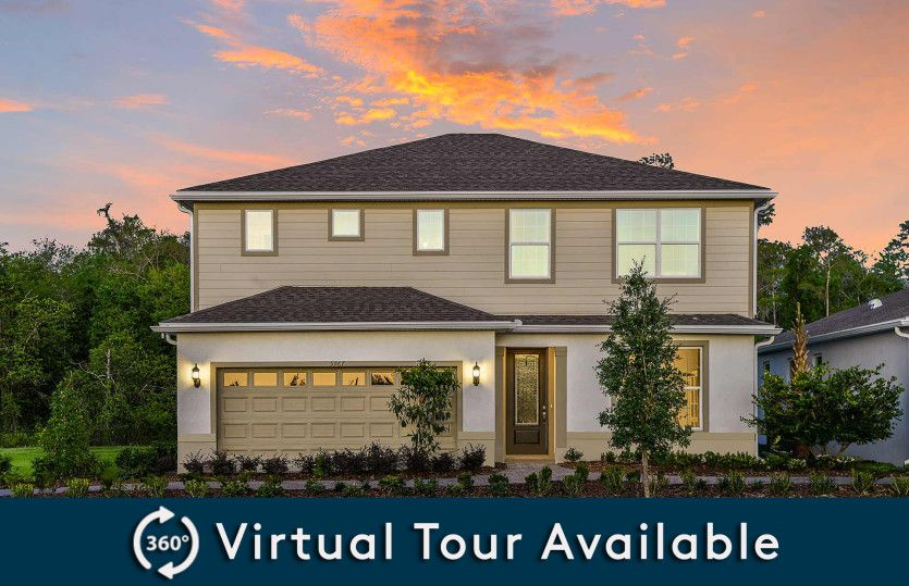 Tower Plan in Pinewood Reserve, Orlando, FL 32829