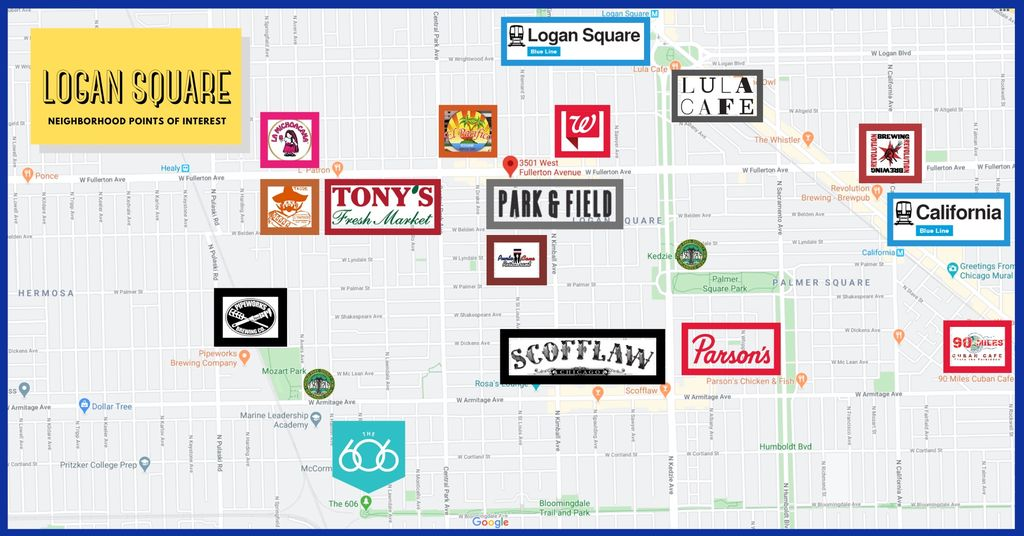3501 W Fullerton Ave, Chicago, IL 60647