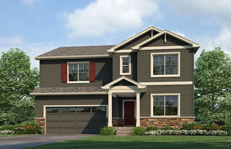 HENNESSY Plan in Mountain Sky, Fort Lupton, CO 80621