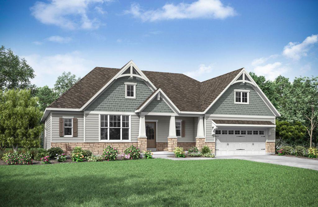 Lyndhurst Plan in North Ridge Pointe, North Ridgeville, OH 44039