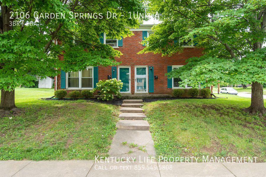 2106 Garden Springs Dr #1-A, Lexington, KY 40504