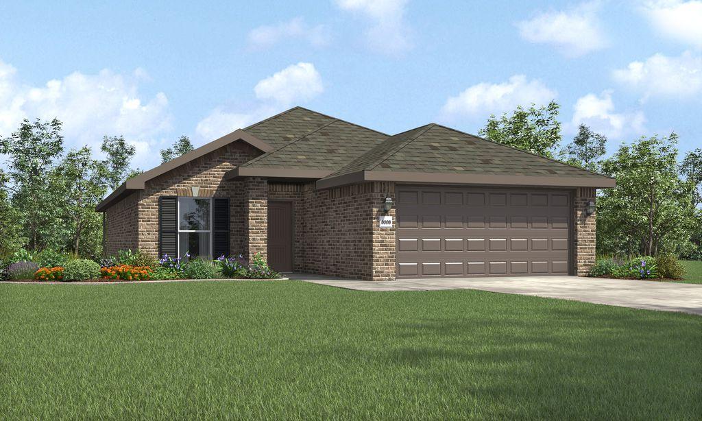 Dorris Plan in The Meadows, Amarillo, TX 79119