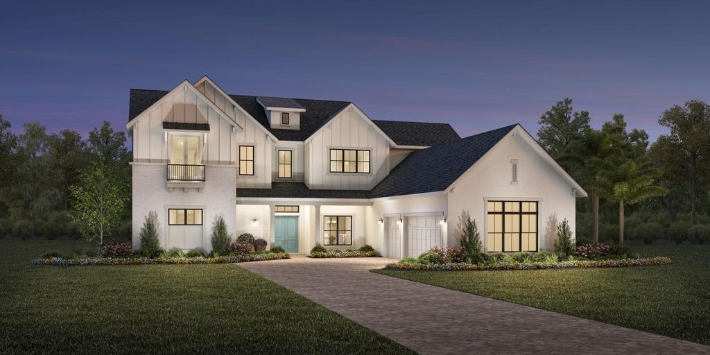 Bressols Plan in Shores at Lake Whippoorwill - Signature Collection, Orlando, FL 32832