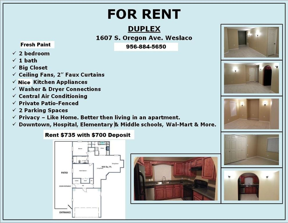 1607 S Oregon Ave #B, Weslaco, TX 78596