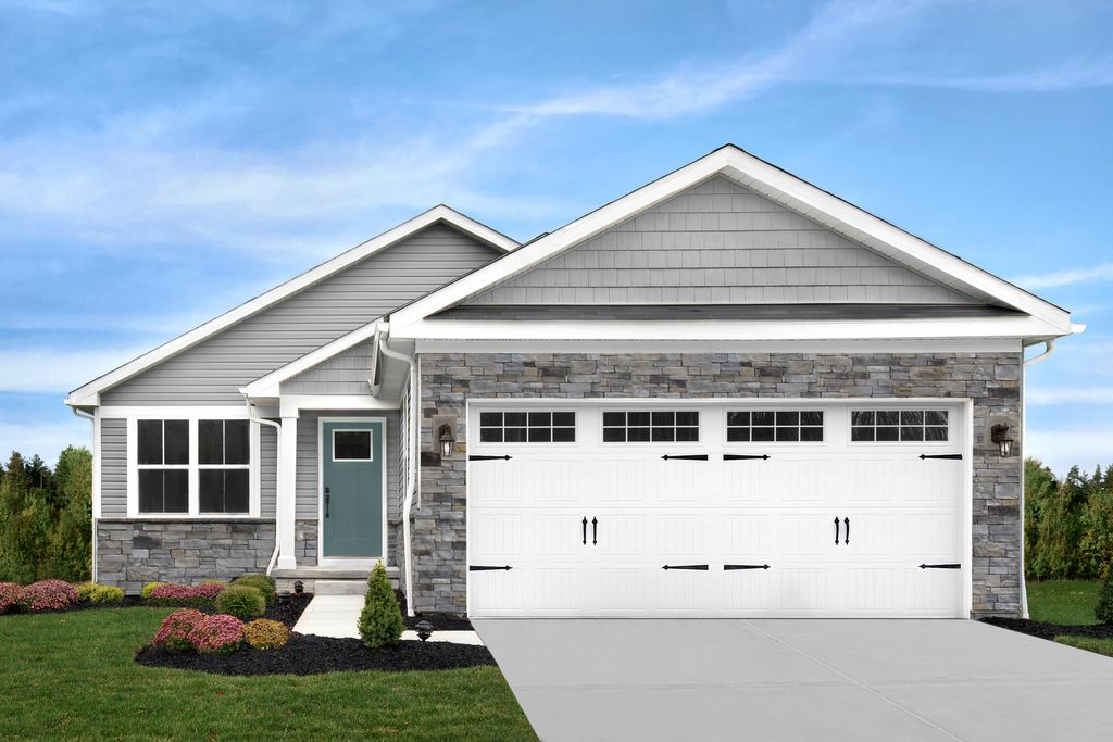 Aruba Bay w/ Full Basement Plan in Sawyers Mill Ranches, Middletown, OH 45042