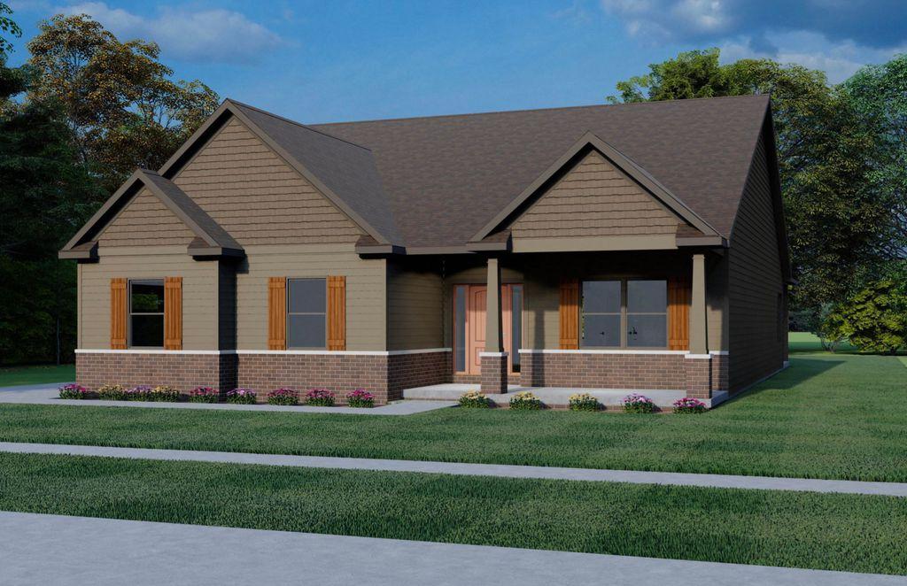 The Aspen Plan in Sage Woods, Monticello, IL 61856