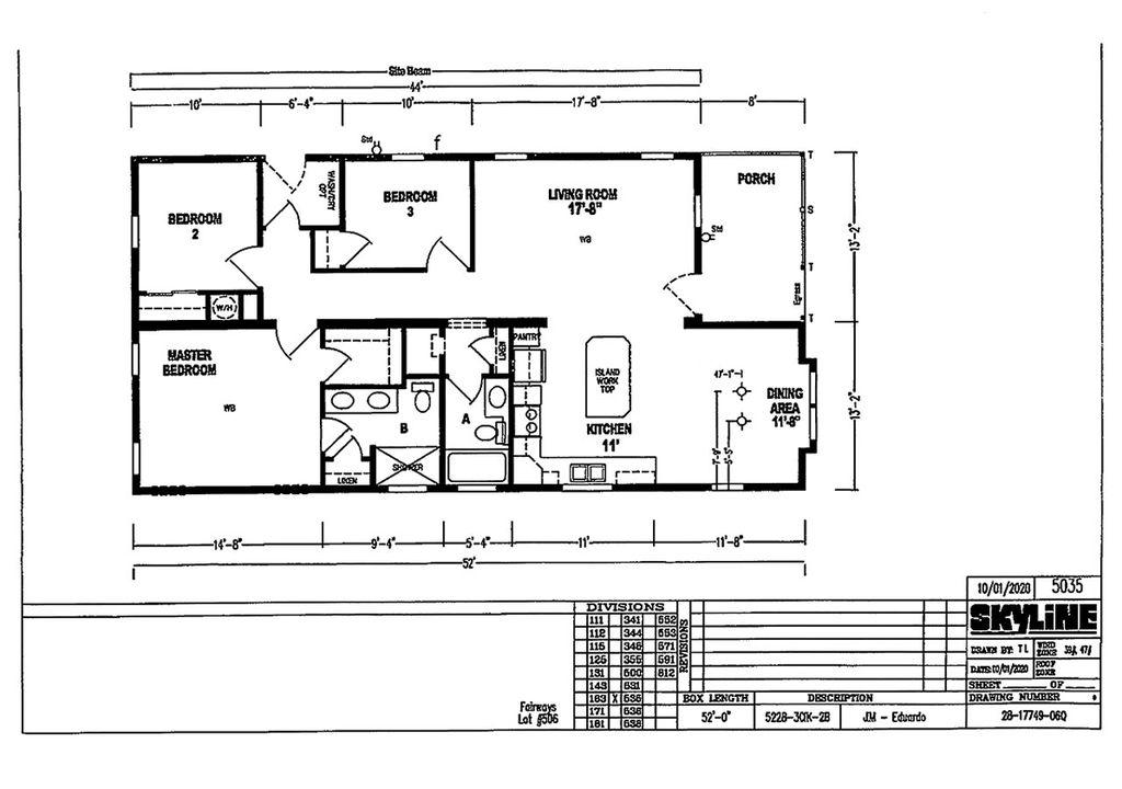 14503 PINE VALLEY RD. Plan in Fairways Country Club, Orlando, FL 32826