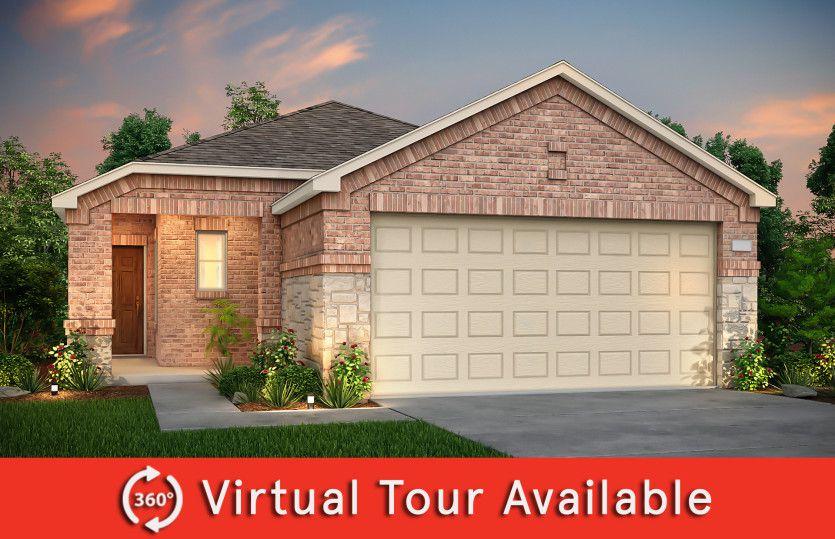 Adams Plan in Oakbrook, Van Alstyne, TX 75495