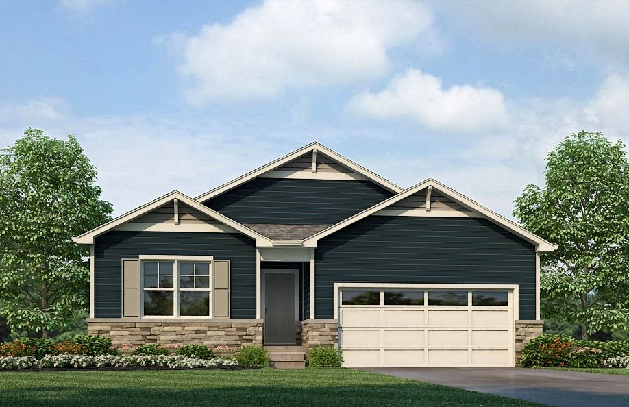 NEWCASTLE Plan in Mountain Sky, Fort Lupton, CO 80621